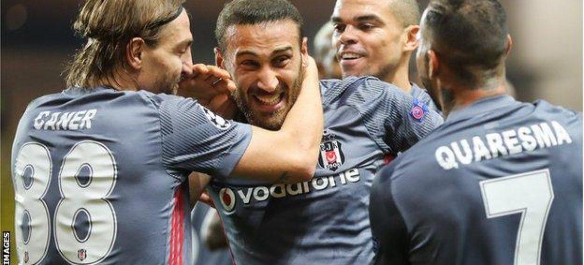 Everton to sign Besiktas striker for 27m pounds