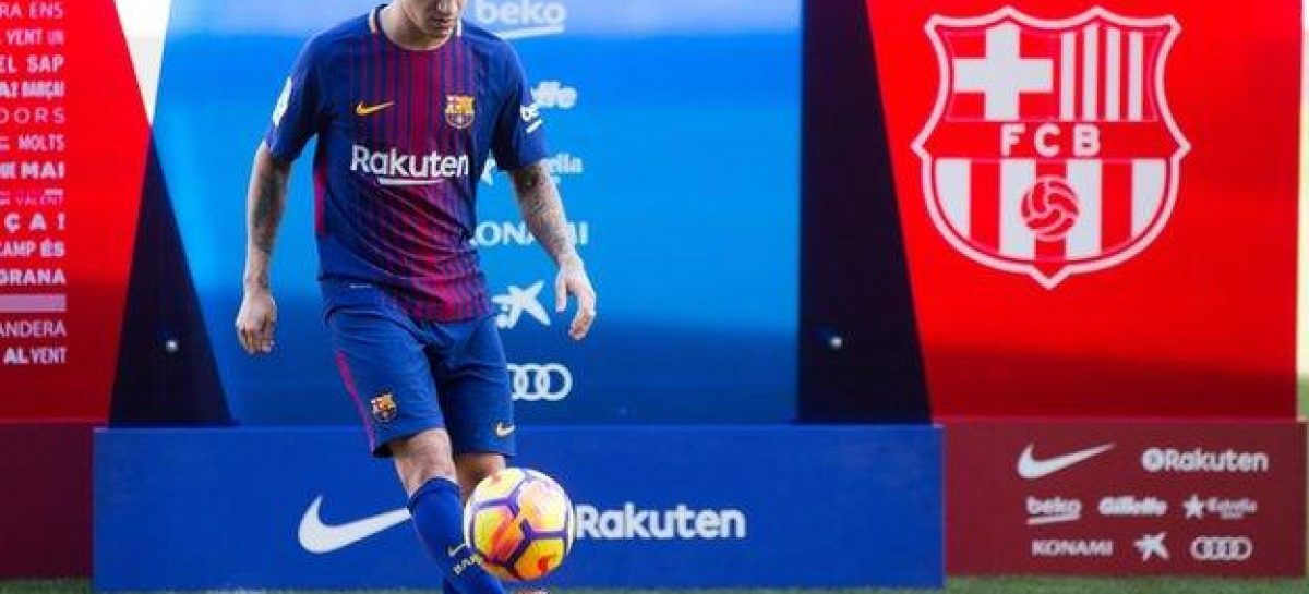 Coutinho unveiled at Barca