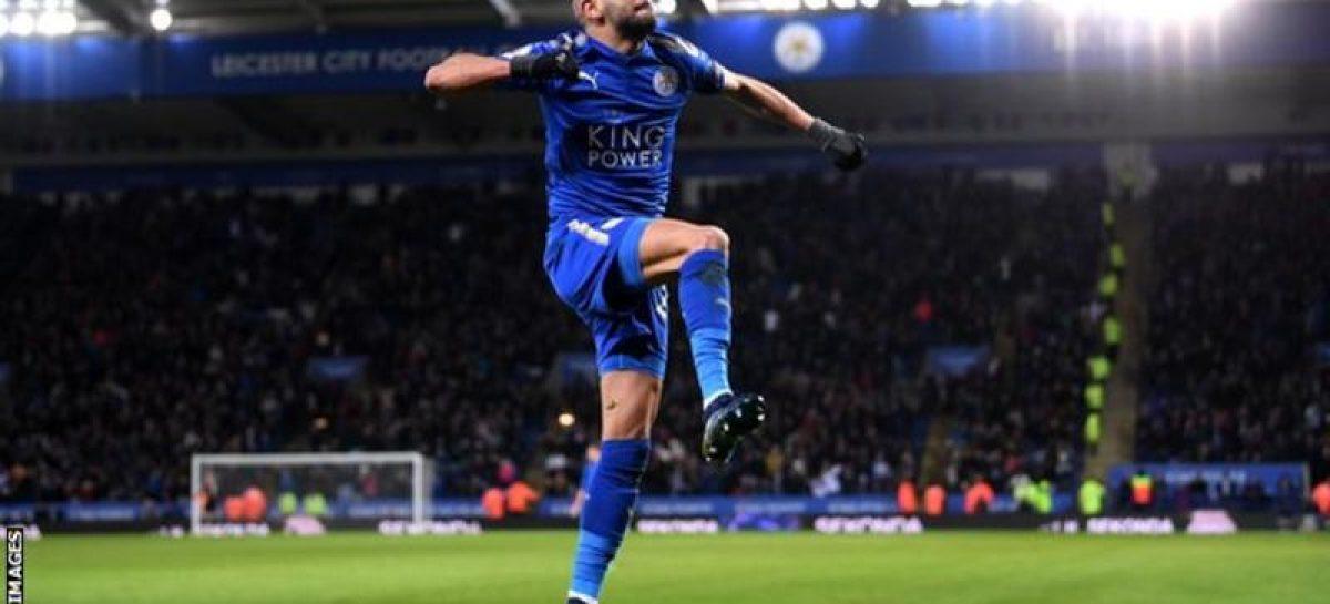 Mahrez submits transfer request as City bid £50m