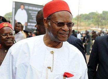 Buhari salutes Emeka Anyaoku at 85