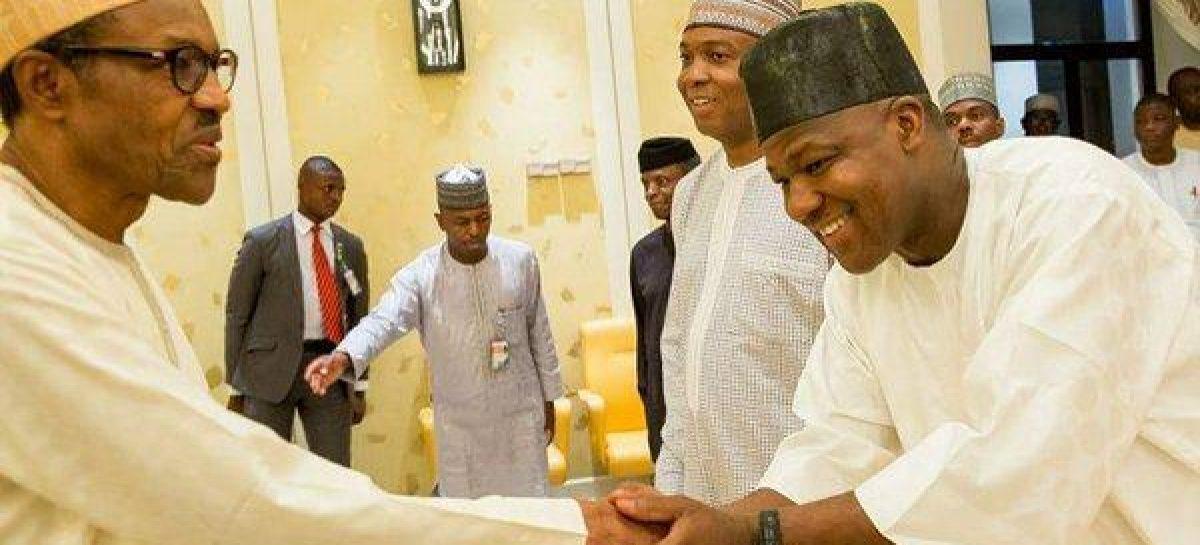 Benue killings: Buhari meets Saraki, Dogara