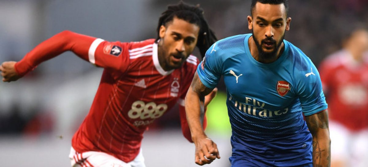 Arsenal dumped out of FA Cup by Nottingham Forest