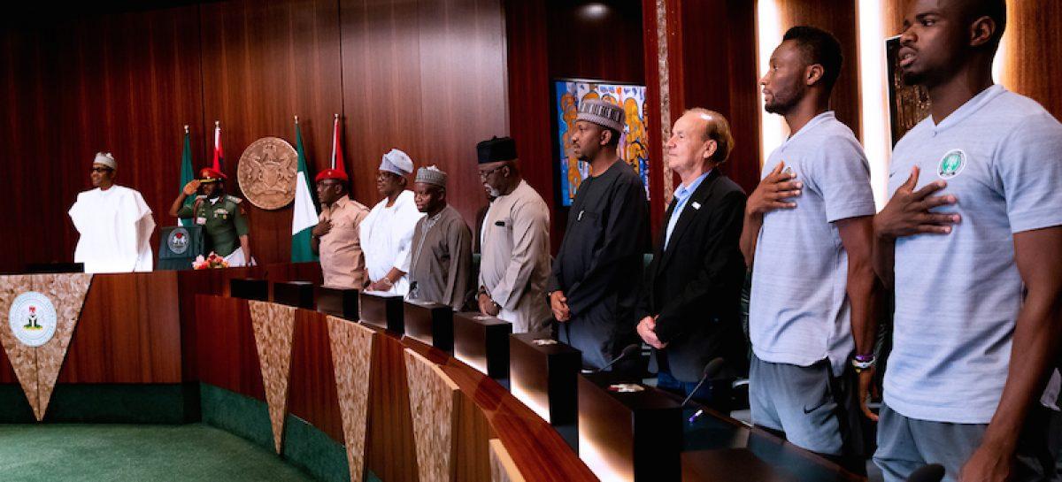 Russia 2018: Play fair, clean, Buhari tells Super Eagles