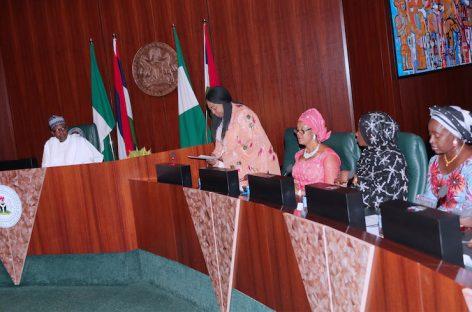 2019: Female lawmakers meet Buhari, demand Osinbajo's seat