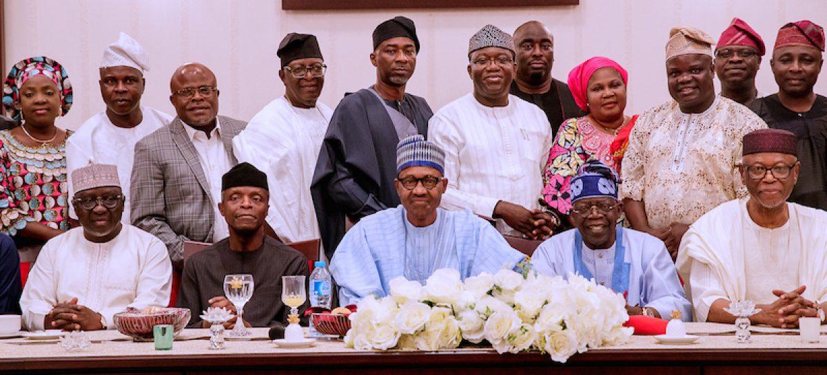 Buhari meets Tinubu, members of South-west APC caucus
