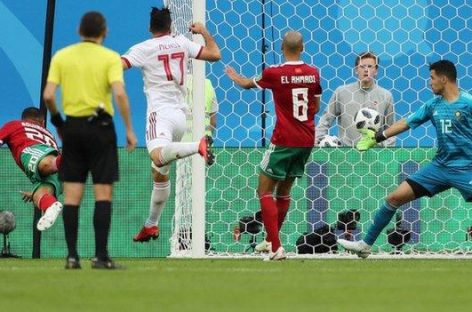 Iran win first World Cup game in 20 years
