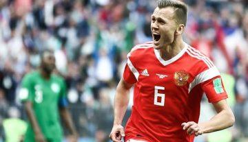 Russia maul Saudi 5-0 in World Cup opener