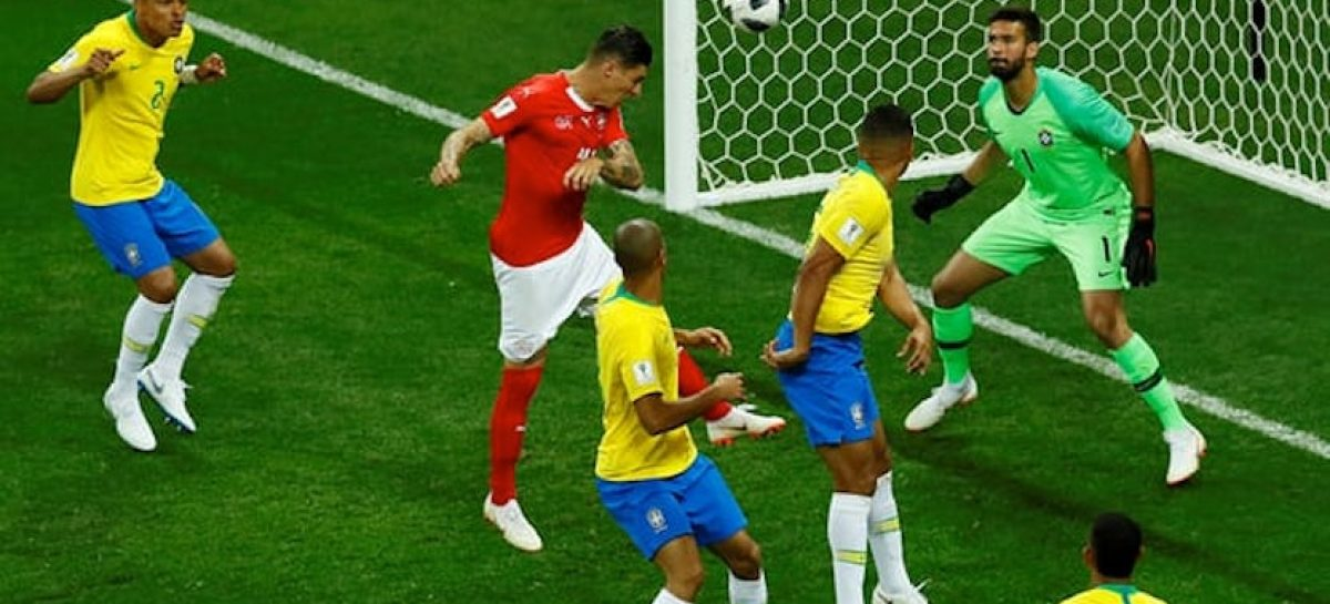 Brazil held to 1-1 draw by resilient Swiss