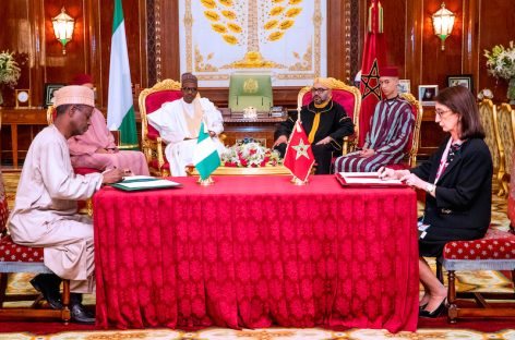 Nigeria, Morocco sign agreement on gas pipeline, agric training