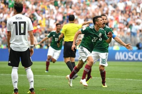 Mexico stun holders Germany 1-0