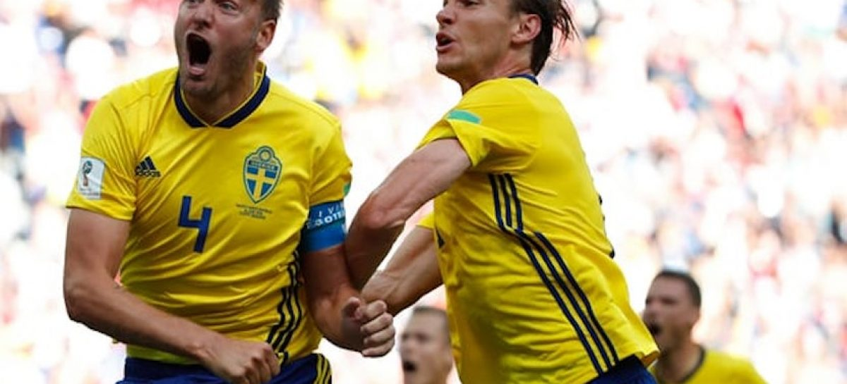 Russia 2018: Sweden beat South Korea 1-0