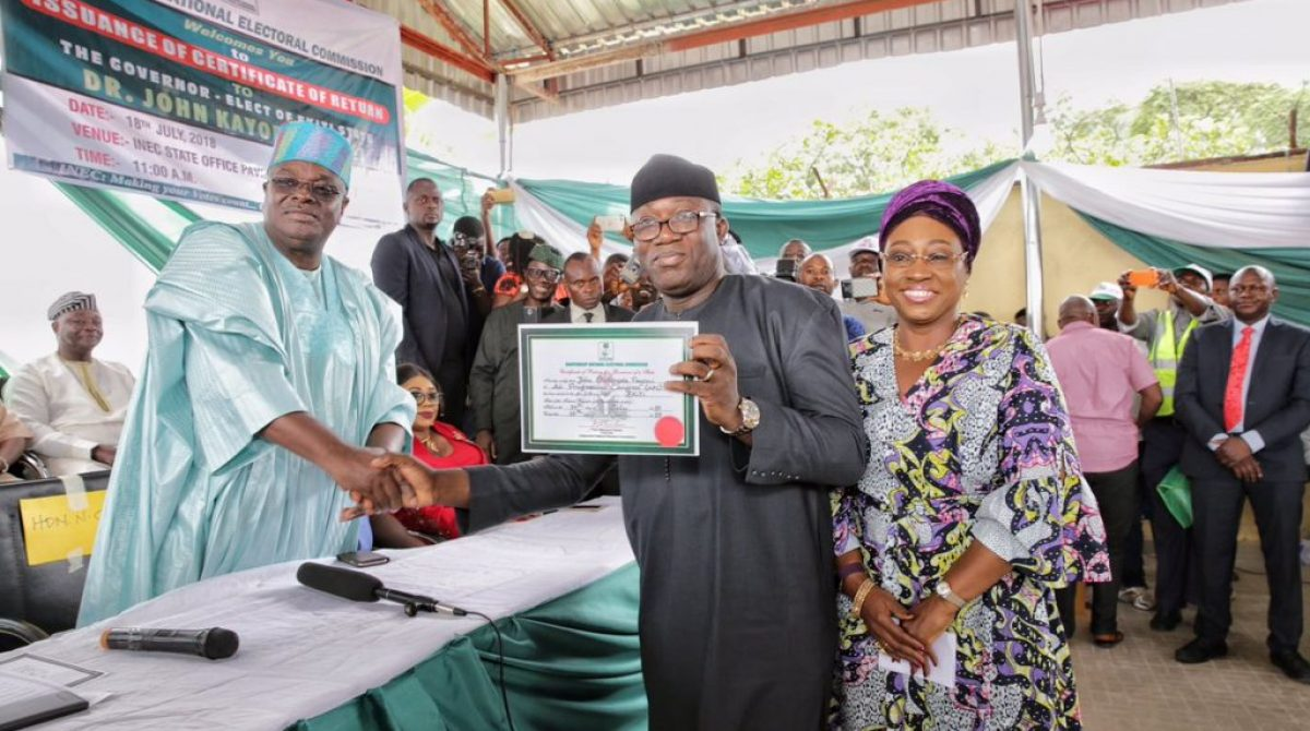 Why Fayose administration must be probed – Fayemi