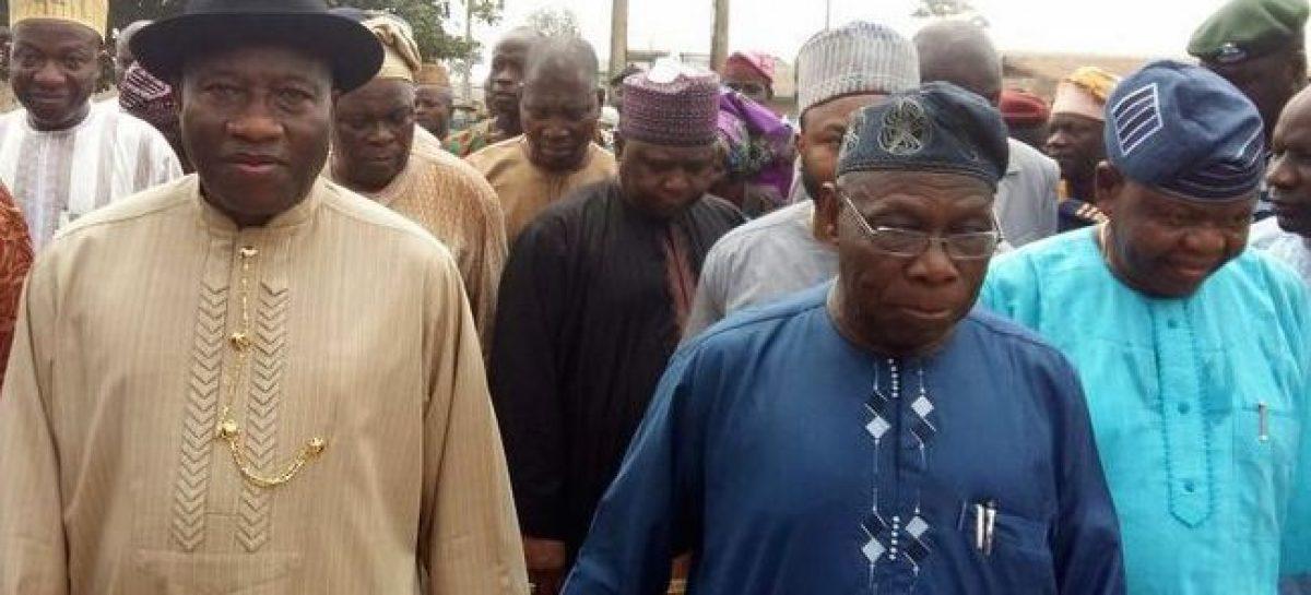 Obasanjo, Jonathan in closed-door meeting