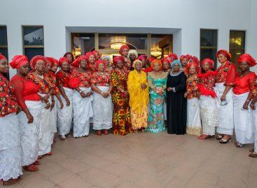 Entrench unity, dialogue among your members, Aisha Buhari tells APC women