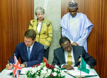 Nigeria, UK sign pacts on defence, economic development