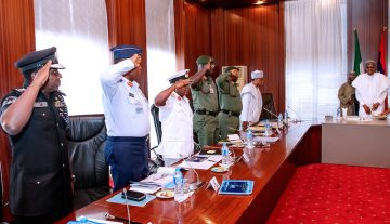 Nigerian govt says security reports from north-east worrisome