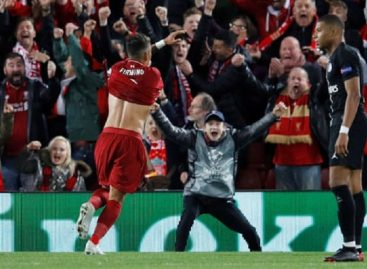 Champions League: Firminho's late goal seals victory for Liverpool against PSG