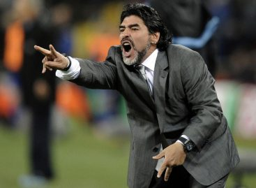 Maradona appointed manager of Mexican second tier side