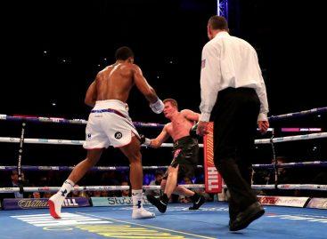Joshua knocks out Povetkin to retain world titles