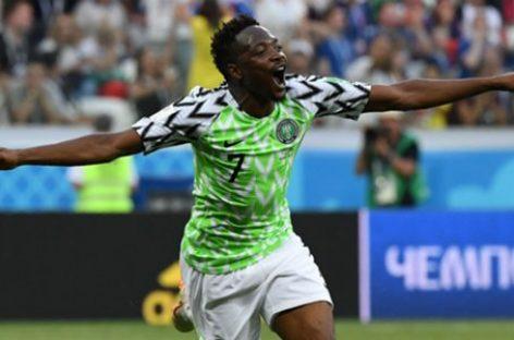Musa scores, Kalu shines as Super Eagles beat Seychelles 3-0