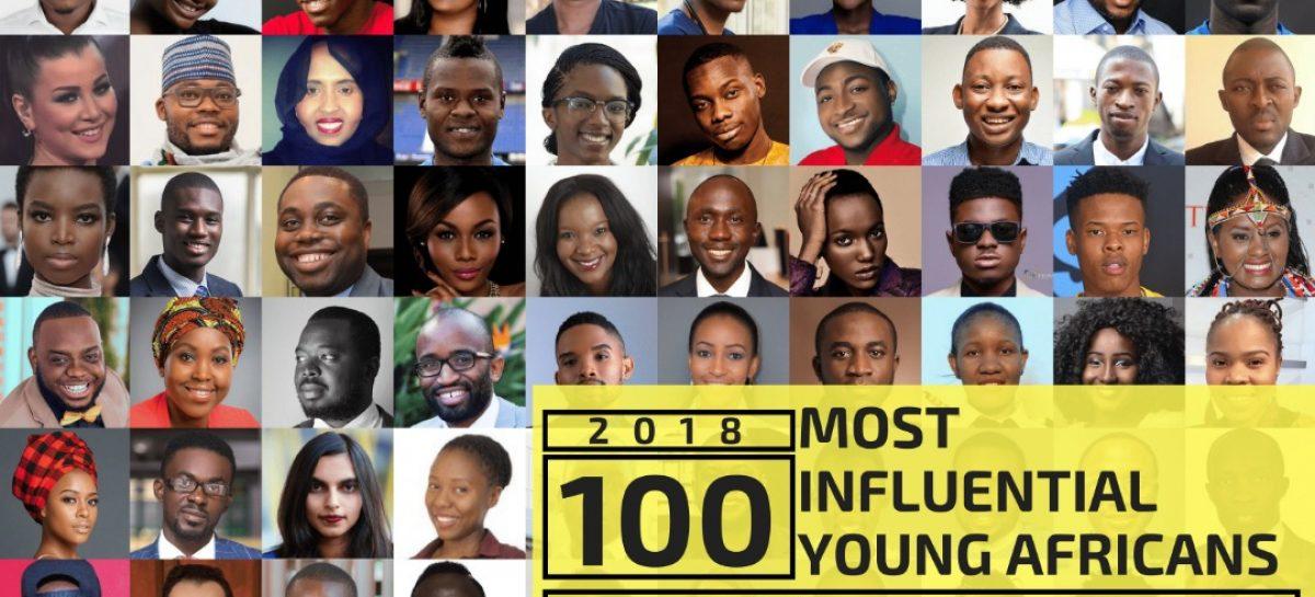 Davido, Stonebwoy, Bobi Wine, Mohamed Salah, Farida NabouremaMake 2018 100 Most Influential Young Africans List