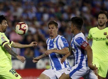 Barcelona lose to bottom side, Leganes