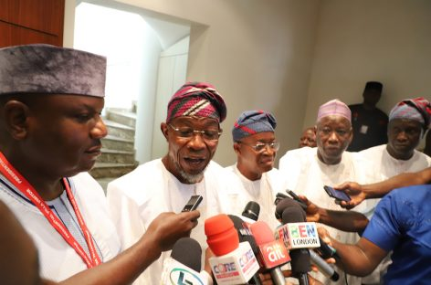 Osun Governor-elect visits Buhari, promises prompt payment of salaries