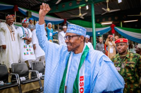 President Buhari has been re-elected for a second term