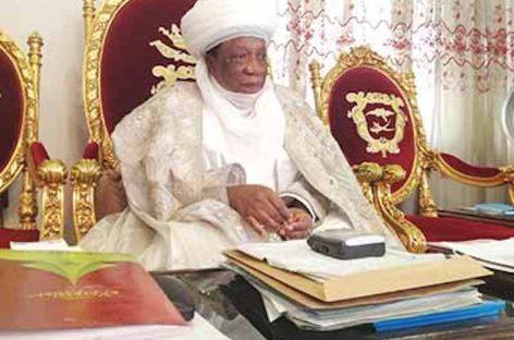 Buhari salutes Emir of Zuru, Sani Sami, at 75