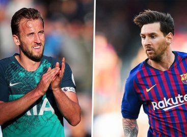 I want to break Messi's scoring records – Kane
