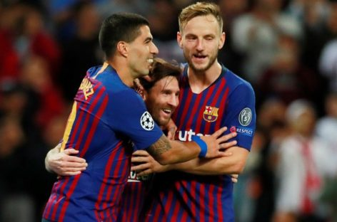 Messi inspires Barca to 4-2 victory over Spurs