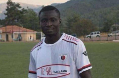 Nigerian striker dies of heart attack in Turkey