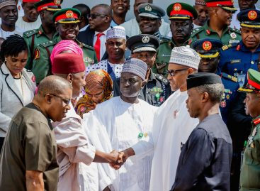 Buhari receives NIPSS participants' report on security, seeks community, agencies' support