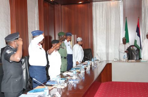 Soldiers' killing: Buhari meets with Service Chiefs again