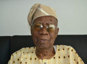 Buhari salutes Olu Akinkugbe at 90