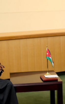 Jordan's King Abdullah condoles with Buhari over military losses