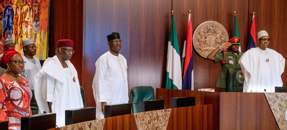 Nigerian govt approves 2019 budget estimates