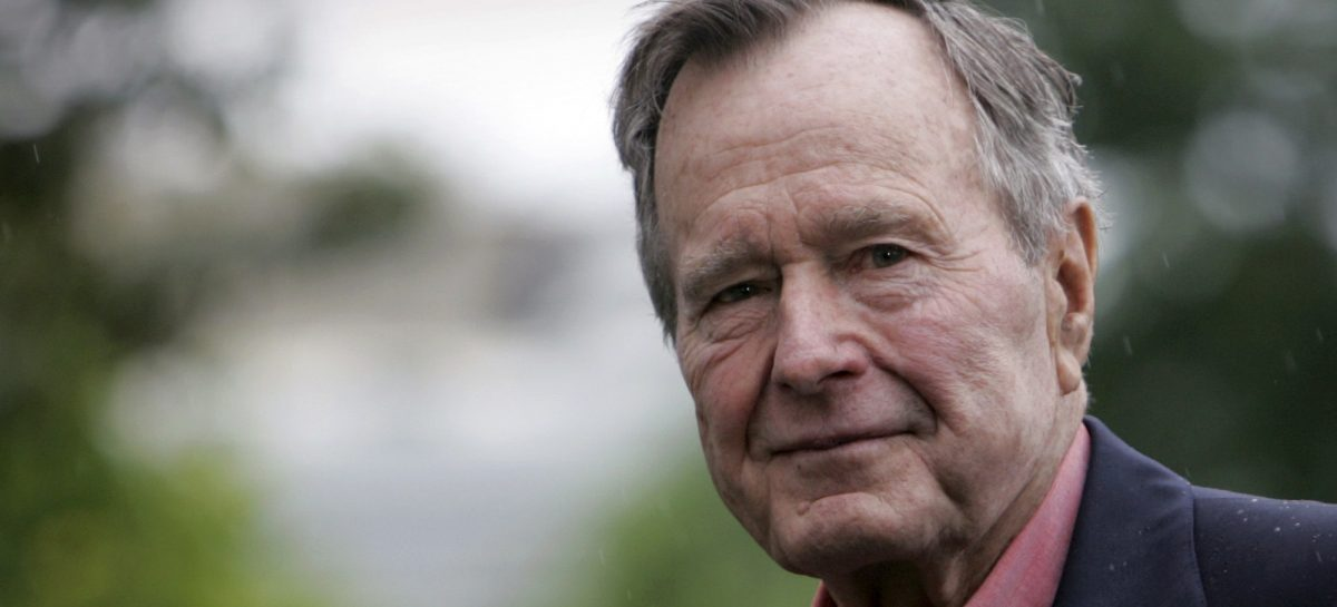 George HW Bush, former US president, dies aged 94