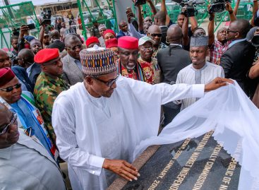 'Electricity has no political colour,' Buhari says at inauguration of IPP in Aba