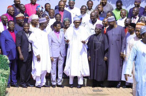 Election: With your prayers, we'll be victorious, Buhari tells Cherubim, Seraphim church leaders