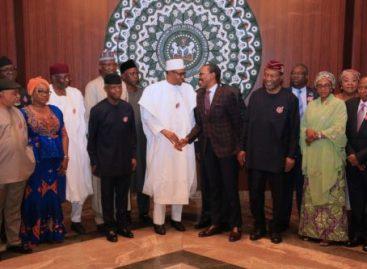 Buhari inaugurates 24-member Technical Advisory Committee on new minimum wage