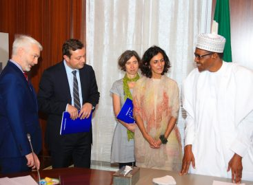 I'm impressed with INEC's readiness for elections, Buhari tells EU observers