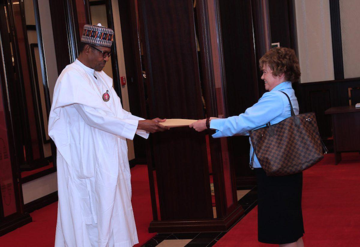 President Buhari receives Amb of Argentina, HC of Canada and United Kingdom. Jan 14, 2019