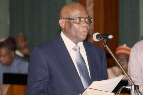 Presidency to U.S., others: It's illogical to link Onnoghen with 2019 polls