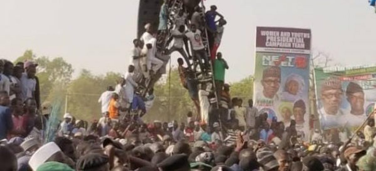 Buhari mourns victims of overcrowding at APC rally in Jalingo