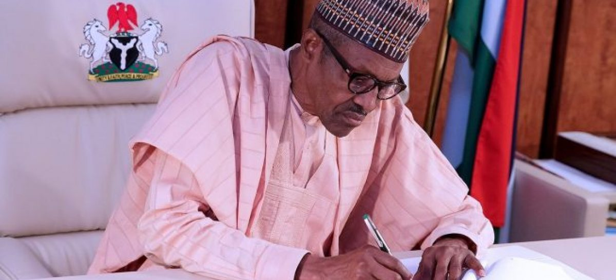 Buhari signs Federal Competition, Consumer Protection Bill 2019 into law