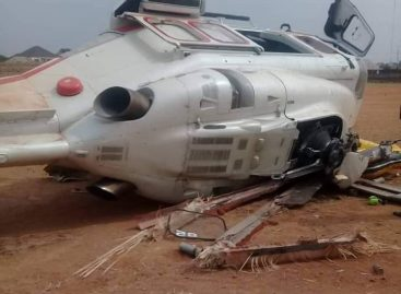 Osinbajo in helicopter accident