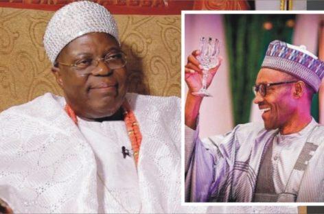 Buhari salutes Oba Tejuoso at 81