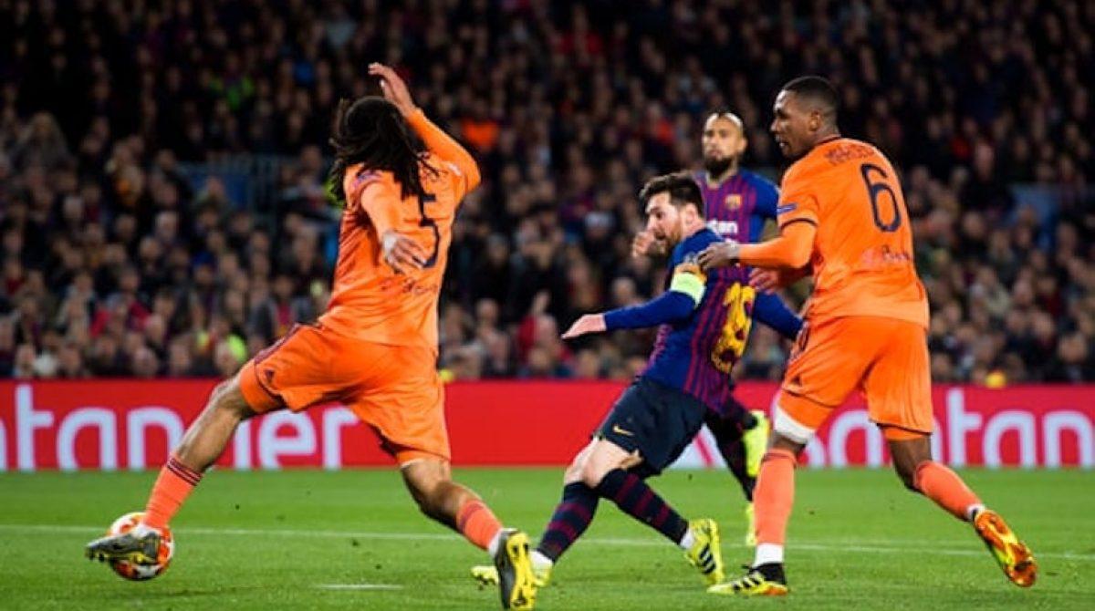 Barcelona ease past Lyon