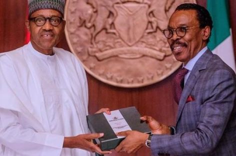 Buhari receives report of technical committee on minimum wage